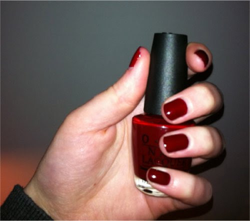 OPI Nail Polish Got The Blues For Red