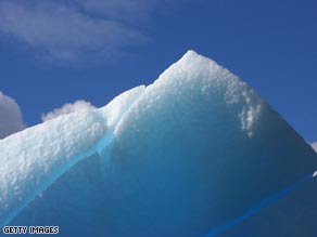 Changes in polar temperatures are not consistent with natural climate changes say scientists.