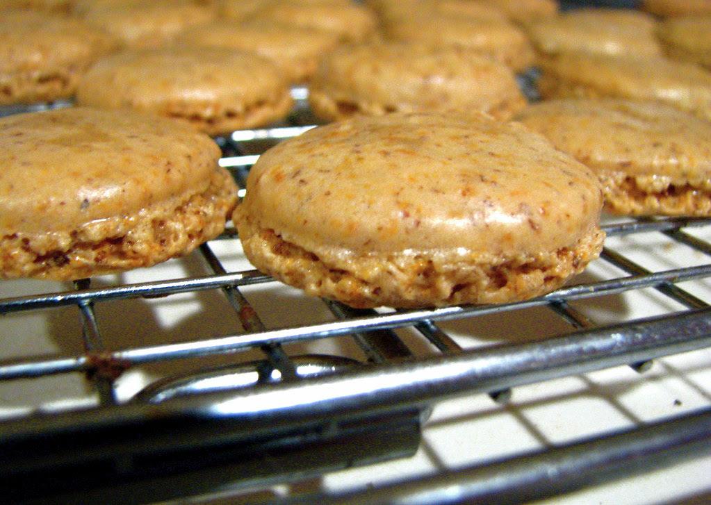 Macarons - first attempt