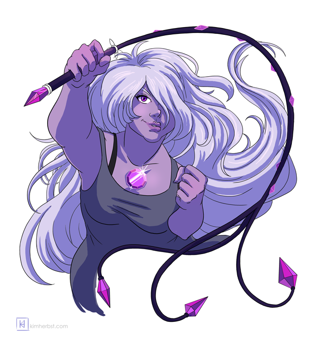 Happy International Women's Day! I'm a bit behind for Sketch Dailies, but here's Amethyst from Steven Universe (where I've only seen like 3 eps, sorry!!)