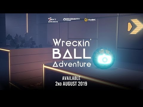 Wreckin' Ball Adventure allows you to escape mysterious lab