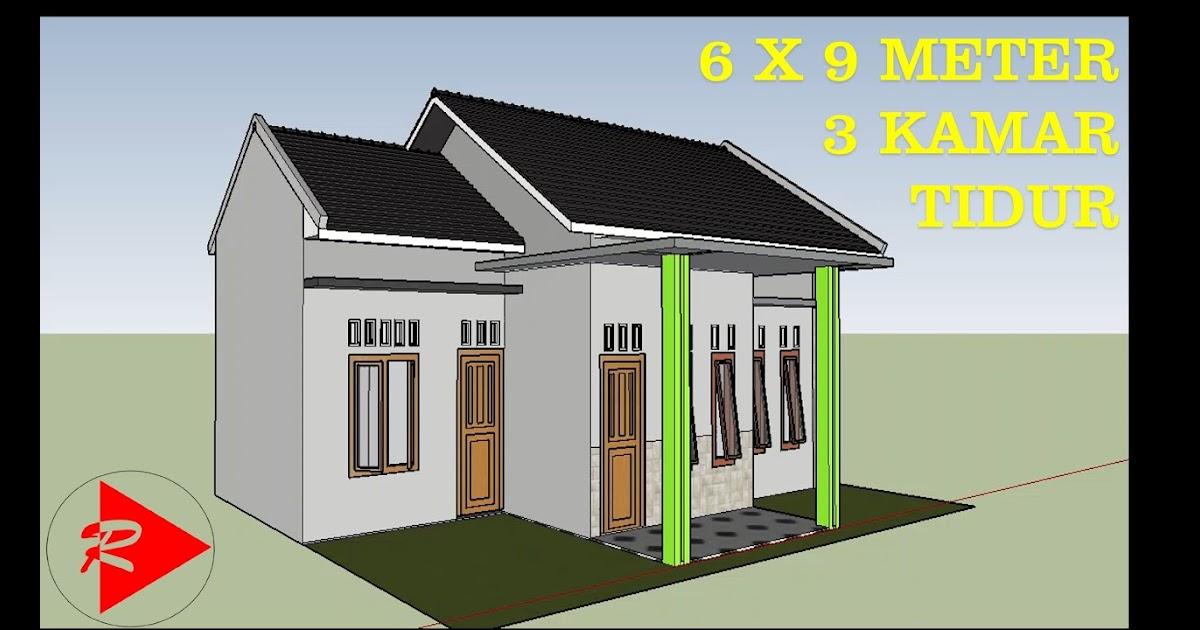 rumah 6x9 3 kamar