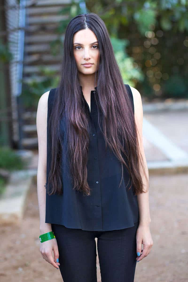 The LOB VS The EXTRA LONG Hair Viral Pictures Of The Day The