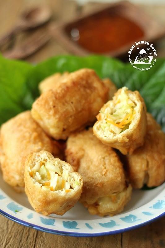 deep fried stuffed tofu puff with cabbage _1 copy