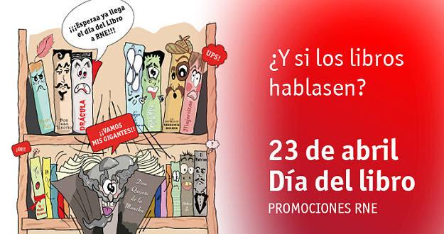 Campaña Día del Libro en RNE