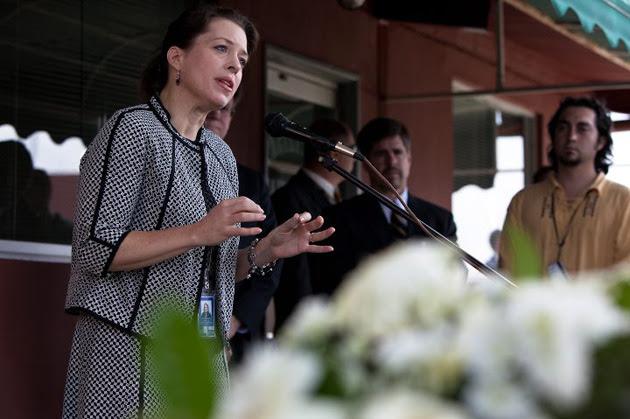 Kelly Keiderling fue encargada de Negocios de los Estados Unidos en Caracas y fue expulsada de Venezuelapor el presidente Maduro por desestabilizadora