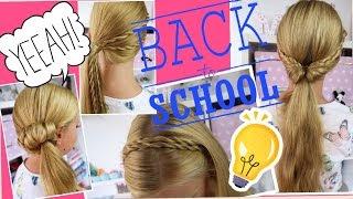 Back To School 2016 Einfache Und Schnelle Frisuren Ganz Easy Coole