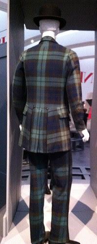 LACMA tartan lounge suit (1875-80)