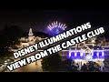 Disneyland Hotel Premium View Club Level View