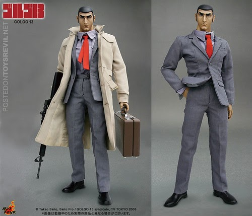 1/6 Anime Masterpiece Golgo 13 By Hot Toys