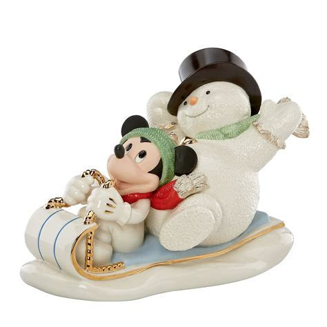Lenox Disney A Snowy Day with Mickey Figurine: Fitzula's