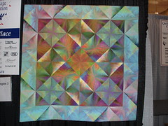 Blushing Triangles by: Gloria Hansen (1st Wall)