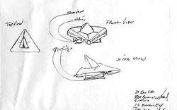 Rendlesham Forest UFO Drawing