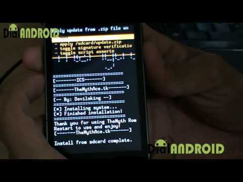 MythROM ICS ROM for Galaxy ACE S5830