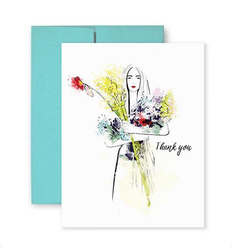 19  Fashion Thank You Cards   PSD, AI, EPS   Free