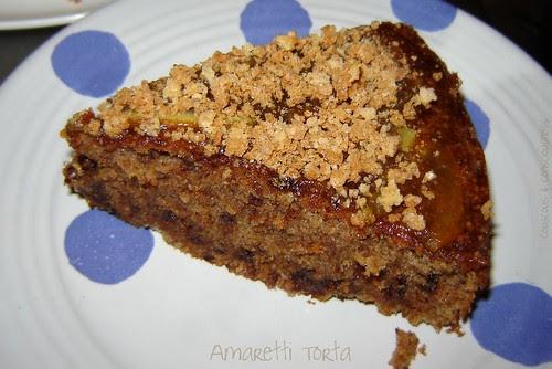 Amaretti Torta 1