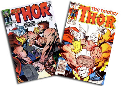 Thor #126 and #338