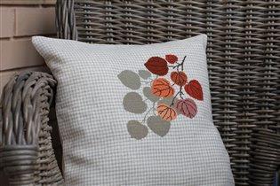 Осенняя подушка
