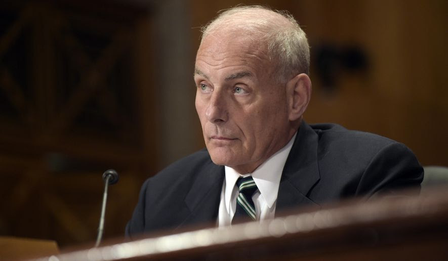 Homeland Security Secretary John F. Kelly testifies on Capitol Hill in Washington, Tuesday, June 6, 2017, before the Senate Homeland Security and Governmental Affairs Committee hearing on the fiscal year 2018 budget. (AP Photo/Susan Walsh)