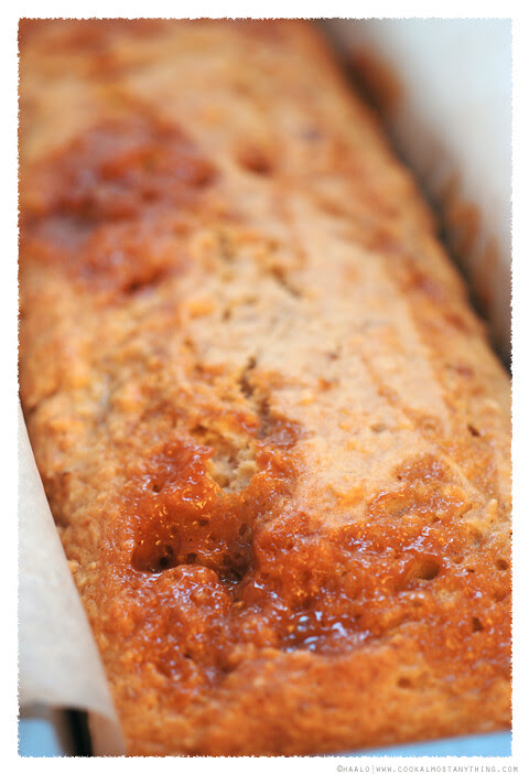 Banana, Hazelnut and Caramel Bread© by Haalo