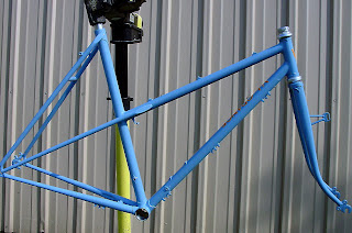 BTW Our Next Frame Is A Semi Lugged Mixte From Johnnys Shop With Rando Geometry