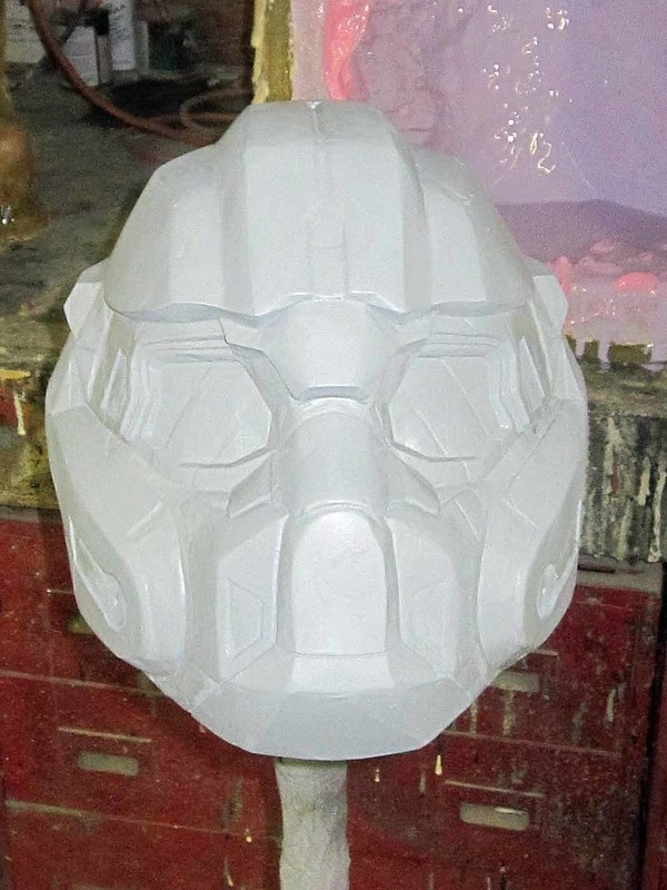 BE PF Helmet Smoothing Front