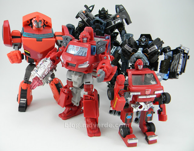 Transformers Ironhide HftD Deluxe - vs otros Ironhides