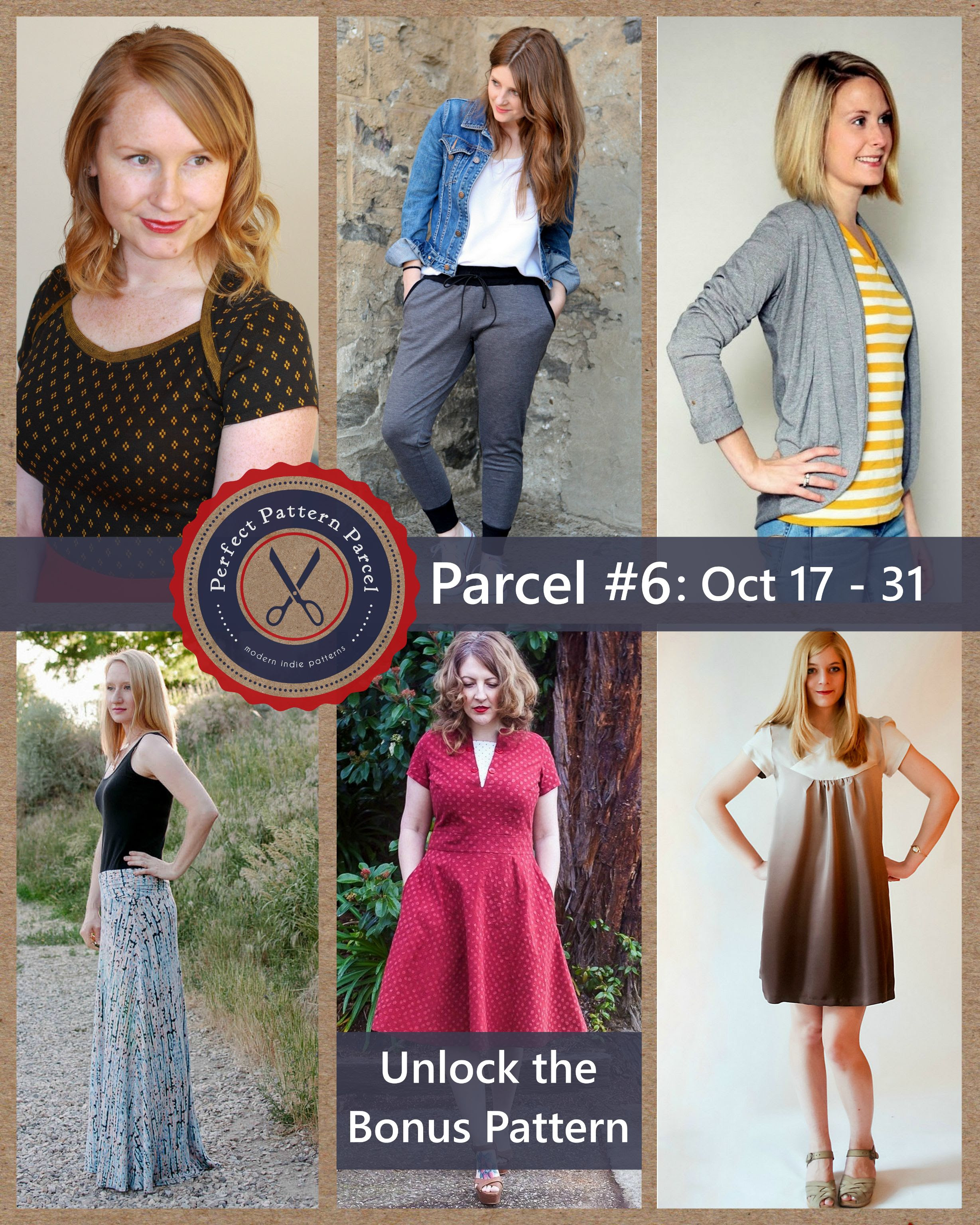 Pattern Parcel #6: Choose your own price and support DonorsChoose. Win/win!
