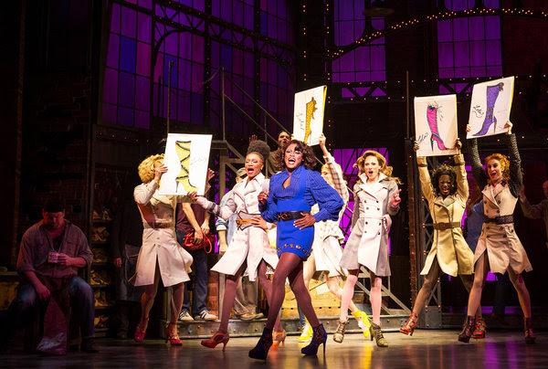 Wayne Brady, center, is the latest star ofCyndi Lauper and Harvey Fierstein's musical