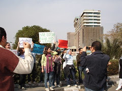 A protest before the protest