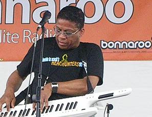 Herbie Hancock performing at The XM Sonic Stag...