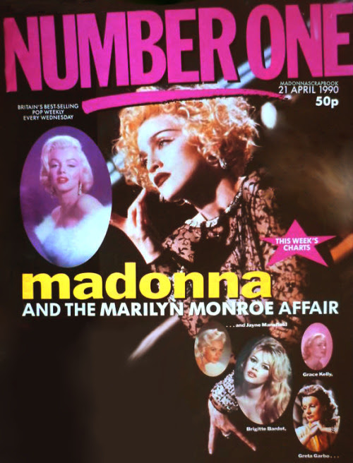 Pud Whackers Madonna Scrapbook Madonna And The Marilyn