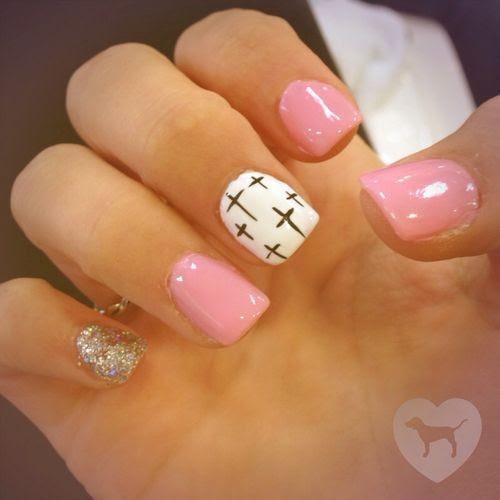 Resultado de imagen para decoracion de uñas cortas pinterest