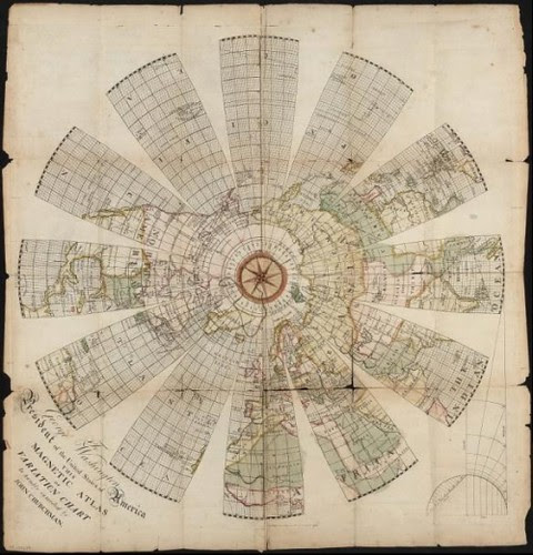 an explanation of the magnetic atlas - John Churchman 1790