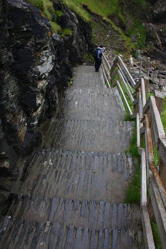 Stone Steps to the beach