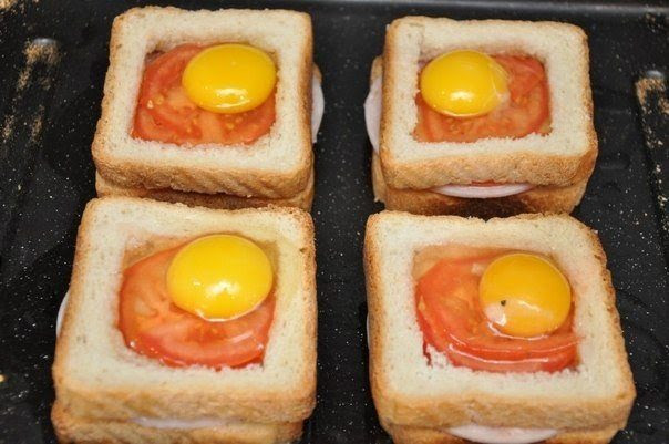 DIY Delicious sandwich as breakfast9