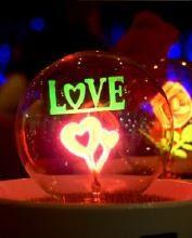 Đèn hoa lửa neight light cảm ứng -  Qùa tặng người yêu - Lãng mạn - ý nghĩa