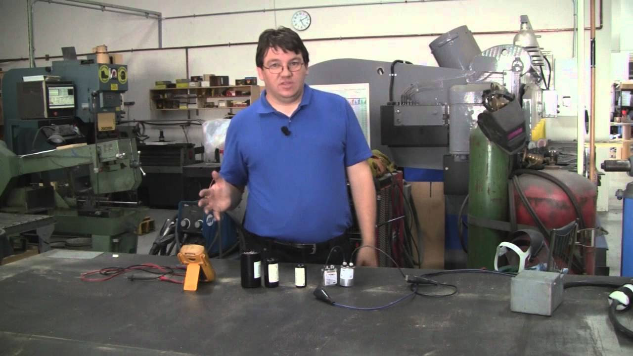 Ac Electric Motor Capacitor Wiring Diagram