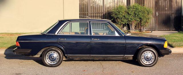 California Original, 1981 Mercedes Benz 240 D (W-123), 4 ...