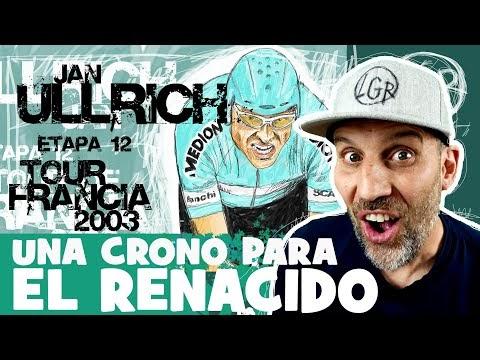 TDF2003 'Jan Ullrich, UNA CRONO PARA EL RENACIDO' Tour de Francia 2003. Etapa 12