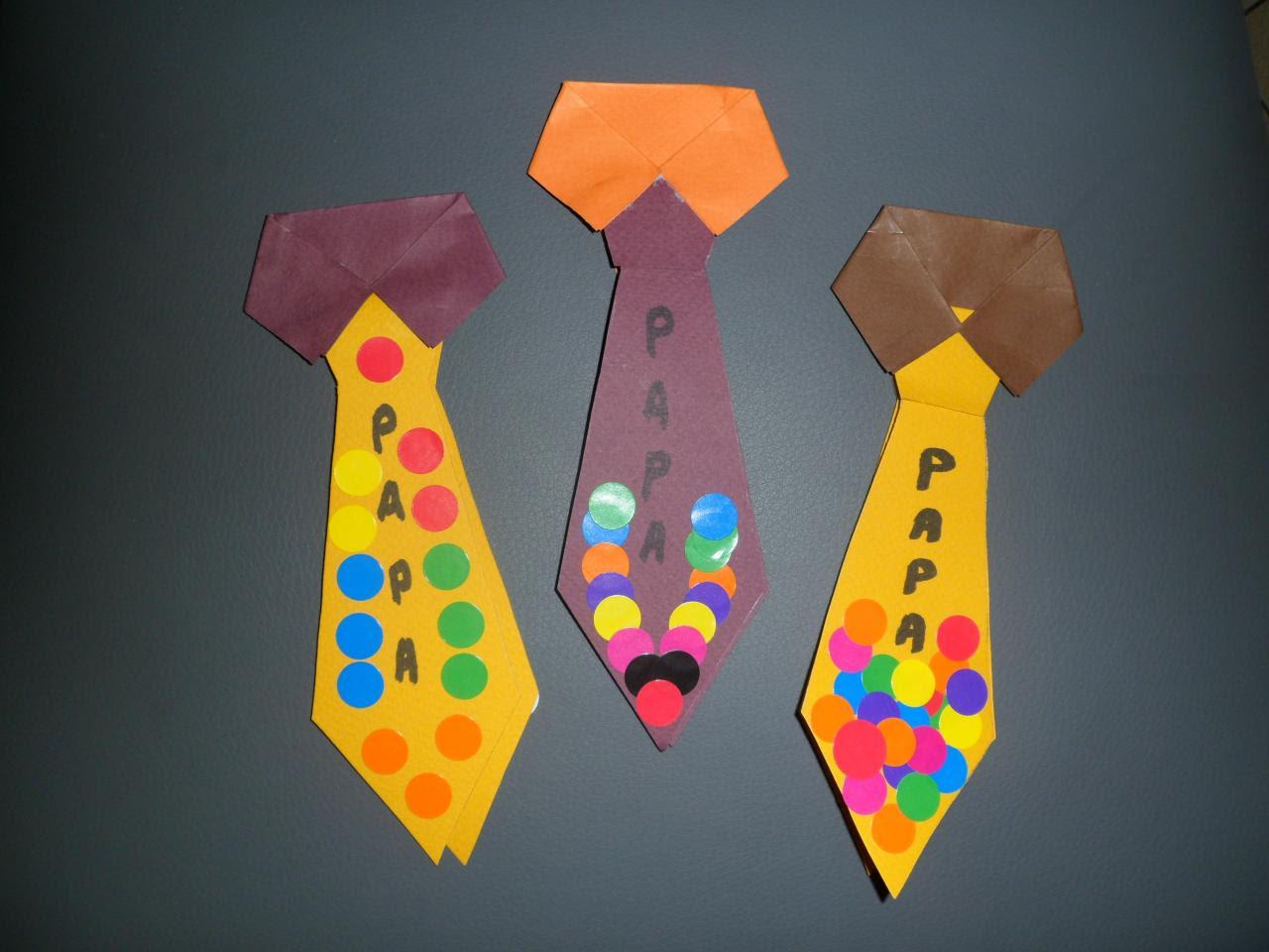 fete des peres marque page cravate