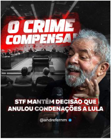 O crime compensa