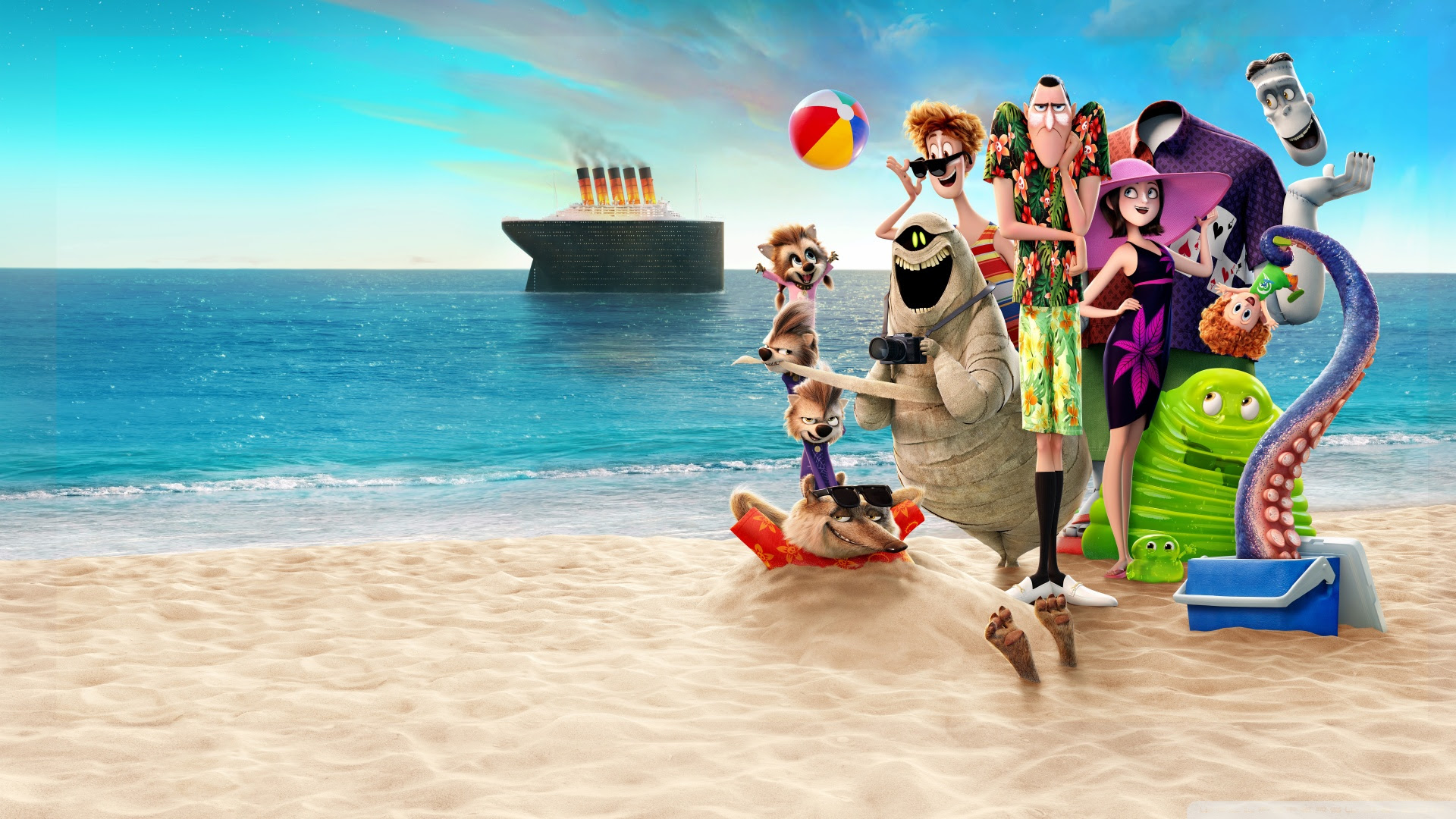 Hotel Transylvania 3 Summer Vacation Review (2018) | Just ...