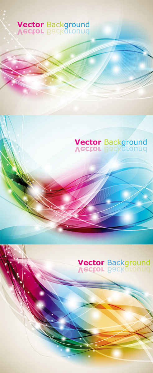 Vector Colorful Abstract Background Artwork