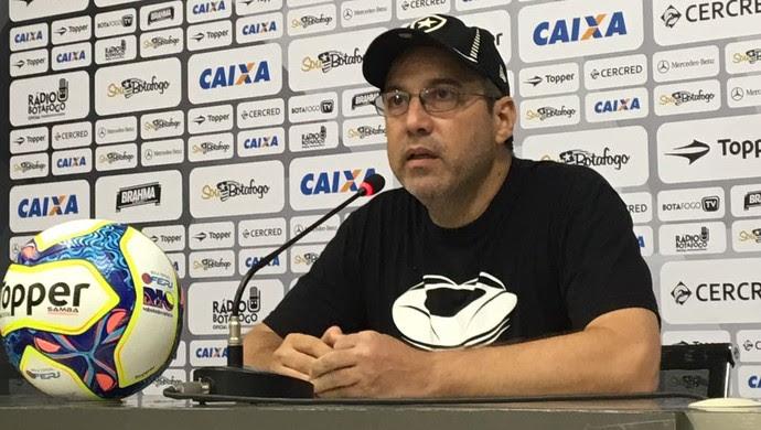 Marcio Padilha, vice de comunicação do Botafogo (Foto: Caio Filho)