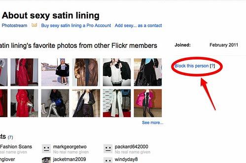 Blocking Flickr Nasties