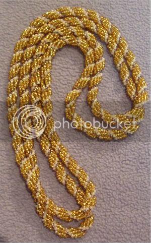 Unicorn Spiral Necklace