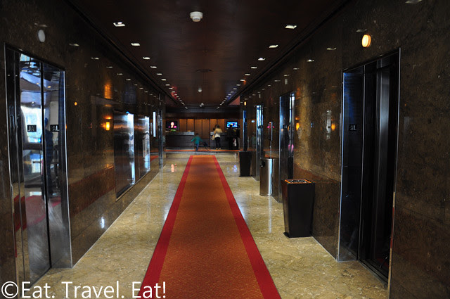 Grand Hyatt San Francisco: Lift Lobby