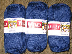 Valley Yarn Goshen yarn