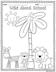 610 Kindergarten Coloring Pages Back To School Pictures